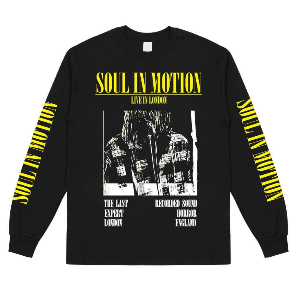Click here for the Soul In Motion x Expert Horror collab tee